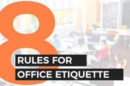 8 Rules For Office Etiquette