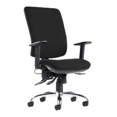Orion Comfort Multi Adjustable Office Chair - Black