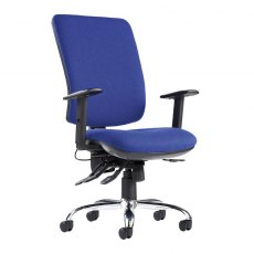 Orion Comfort Multi Adjustable Office Chair - Blue