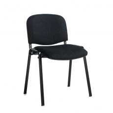 Nodin Padded Stackable Conference Chair - Charcoal