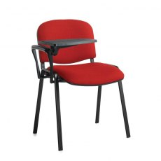Nodin Max Conference Chair With Folding Table - Burgundy