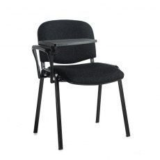 Nodin Max Conference Chair With Folding Table - Charcoal
