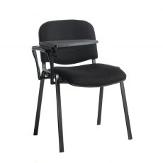 Nodin Max Conference Chair With Folding Table - Black