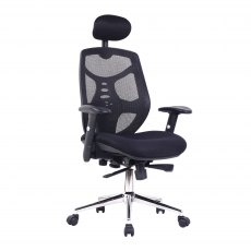 Sullivan Premium High Back Office Chair - Black