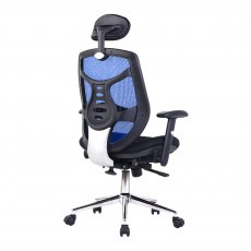 Sullivan Premium High Back Office Chair - Blue