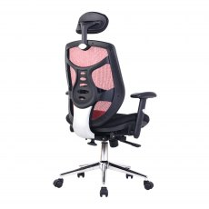 Sullivan Premium High Back Office Chair - Red