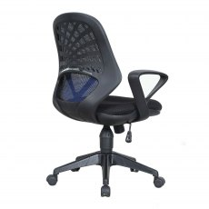 Rem Mesh Back Home Office Chair - Blue