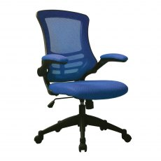 Meir Mesh Back Office Swivel Chair - Blue