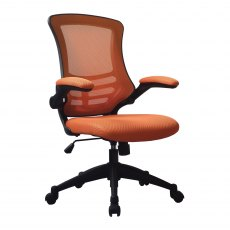 Meir Mesh Back Office Swivel Chair - Orange