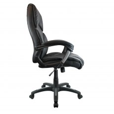 Hadfield Executive High Back Swivel Chair - Black