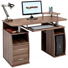 Tetra Desk With Cupboard & Drawers