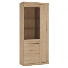 Wanaka Tall 3 Door Display Cabinet