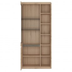 Kensington Tall 3 Door Display Cabinet