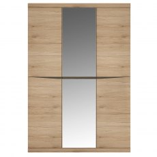Wanaka Wardrobe with Centre Mirrored Door