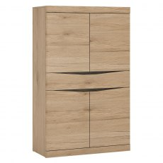 Wanaka 4 Door 1 Drawer Cupboard