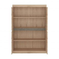 Wanaka 4 Door Cabinet - Oak