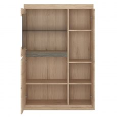 Wanaka 3 Door Cabinet with Display Window