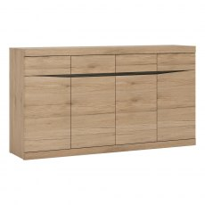 Wanaka 4 Drawer 4 Door Sideboard