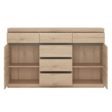 Wanaka 2 Door 6 Drawer Sideboard