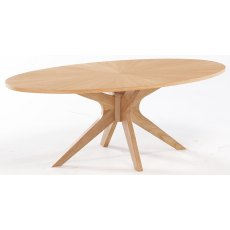 Malmo Coffee Table - White Oak