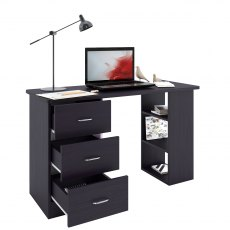 Guppy Office Desk - Black