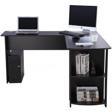 Pacu Corner Desk - Black