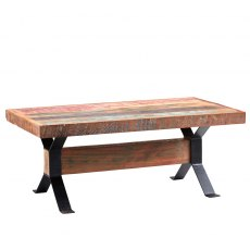 Coastal Coffee Table - Mixed Reclaimed Wood