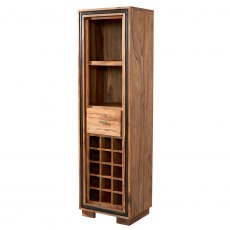 Jodhpur Wine Bookcase - Sheesham Wood