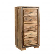 Jodhpur Sheesham Tall Chest Of Drawers