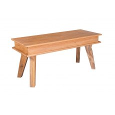 Jodhpur Small Dining Bench - Sheesham Wood