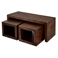 Toko Dark Mango Cubed John Long Coffee Table