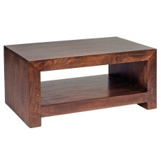 Toko Large Coffee Table - Dark Mango Wood