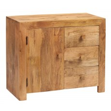 Toko 3 Drawer Sideboard - Light Mango Wood