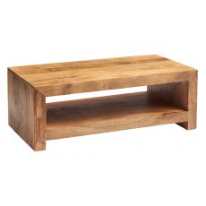 Toko Large Coffee Table - Light Mango Wood