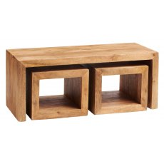 Toko Light Mango Cubed John Long Coffee Table