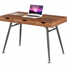 Coley Desk With Three Drawers