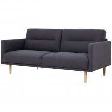 Koppla 2 Seater Sofa, Anthracite - Dark Grey
