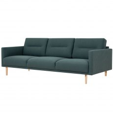 Koppla 3 Seater Sofa - Dark Green