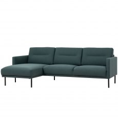 Koppla Chaiselongue Sofa - Dark Green