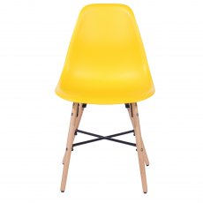 Pair of Sion Dining Chairs - Yellow