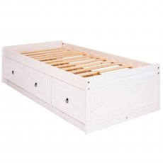 Tolland Cabin Bed - White