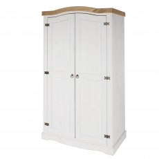 Tolland 2 Door Wardrobe - White