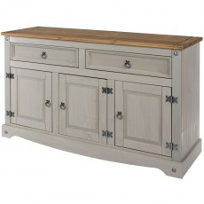 Tolland Medium Sideboard - Grey