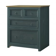 Tolland 4 Drawer Chest of Drawers - Carbon