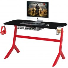 Sherman Gaming Desk - Carbon Fibre