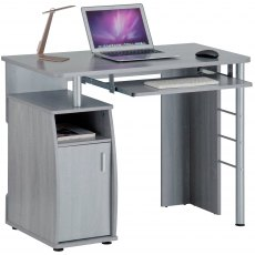 Elver Desk Silver Grey PC1y