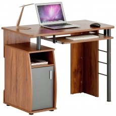 Elver Desk Dark Pine PC1p