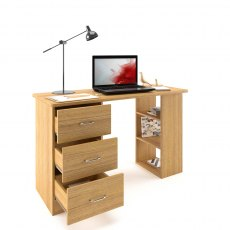 Guppy Desk Oak - Oak