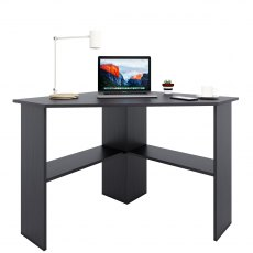 Danio Desk - Black Woodgrain