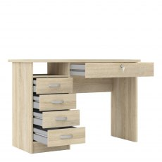 Tarm 5 Drawers Desk
